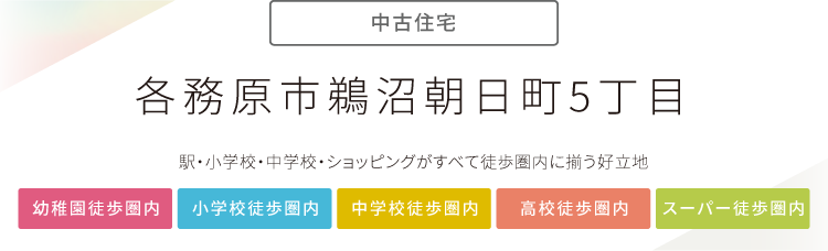 """""""各務原市朝日町5丁目"""""""